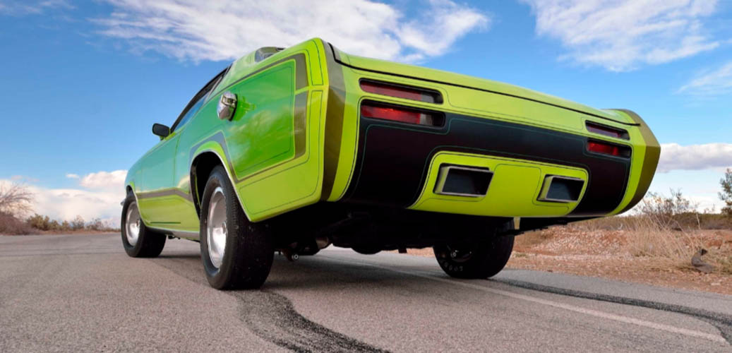 Green 1970 RTS Duster