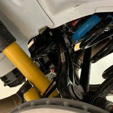 Under side of the Durango SRT Pursuit