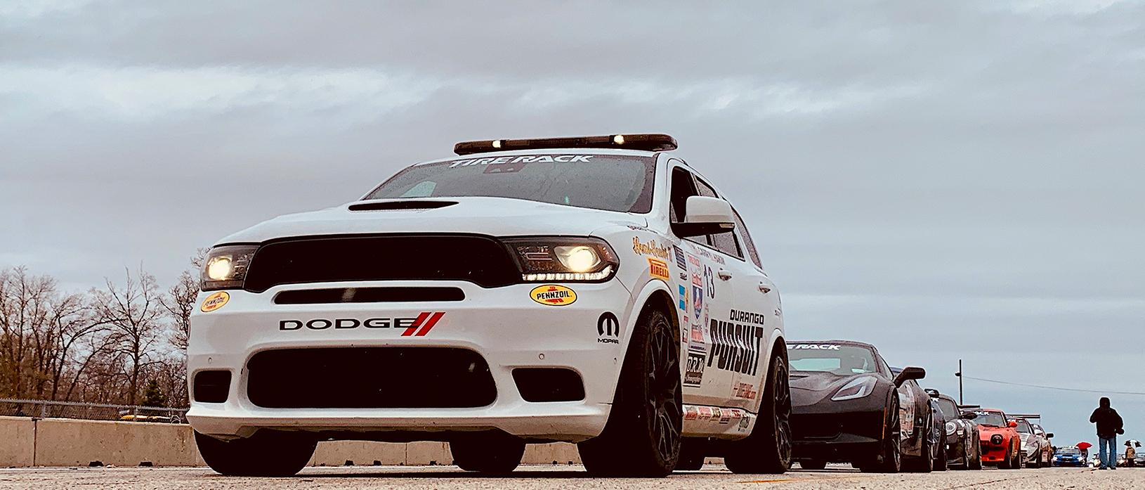 Durango Pursuit racing in OLOA