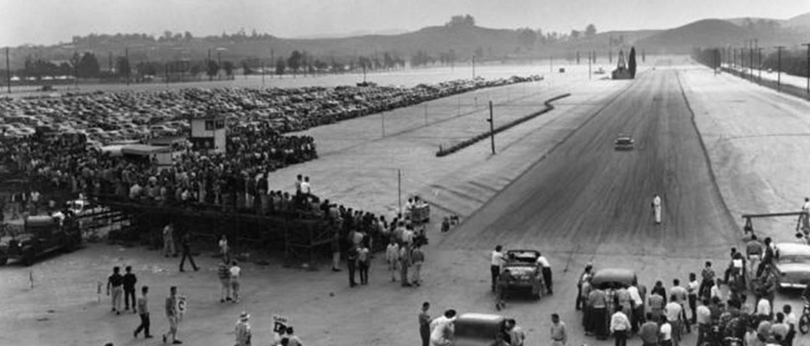 1950 drag strip