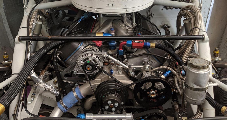Adam Romito Dodge Challenger Engine
