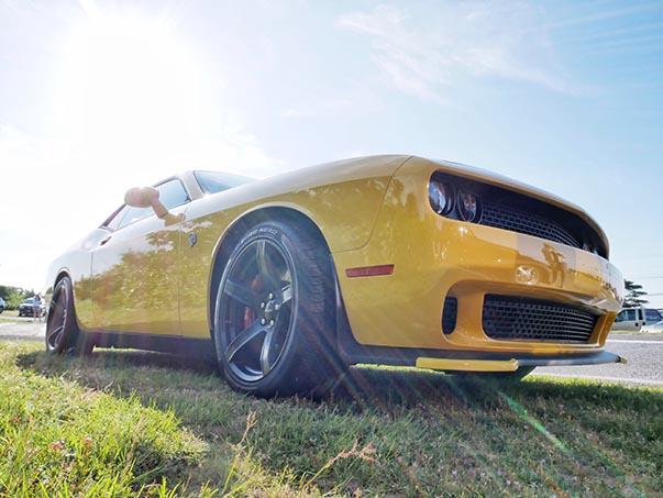 Yellow Challenger Hellcat