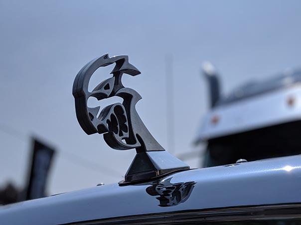 Hellcat hood ornament