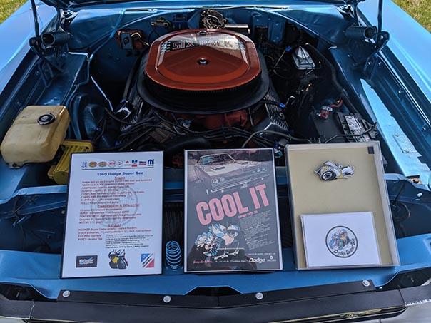 Blue Dodge Charger Scat Pack