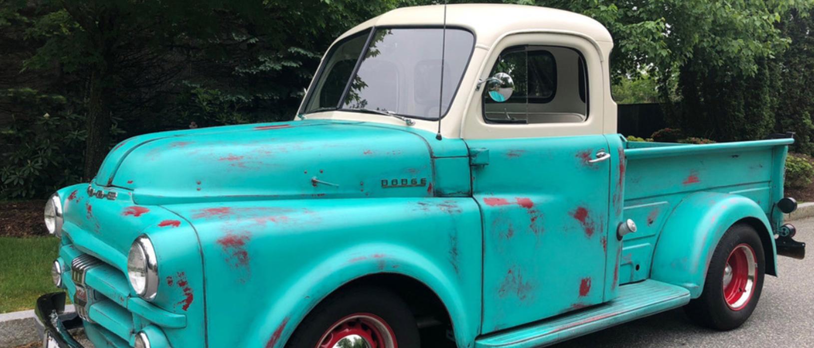 a 1952 dodge B3B custom pickup