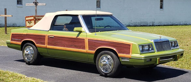 1983 chrysler lebaron custom convertible