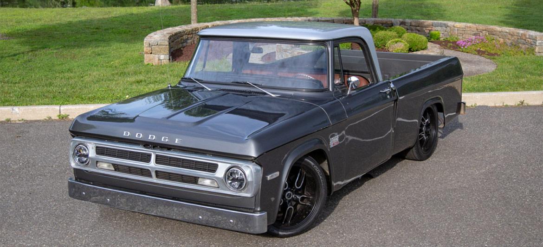a 1970 dodge d100 pickup