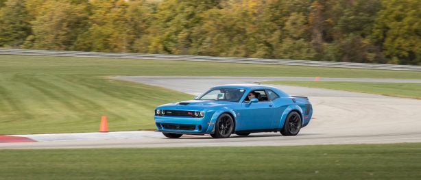 2019 Dodge Challenger RT Scat Pack Widebody - track