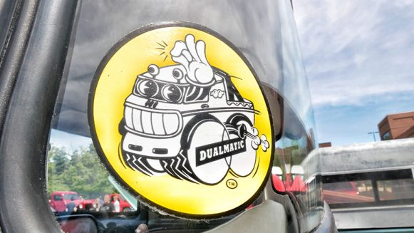 a vehicle decal