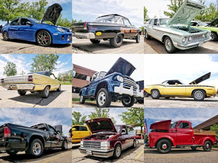 a collection of vehicles
