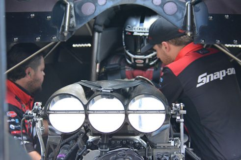 tommy johnson jr in his funny car