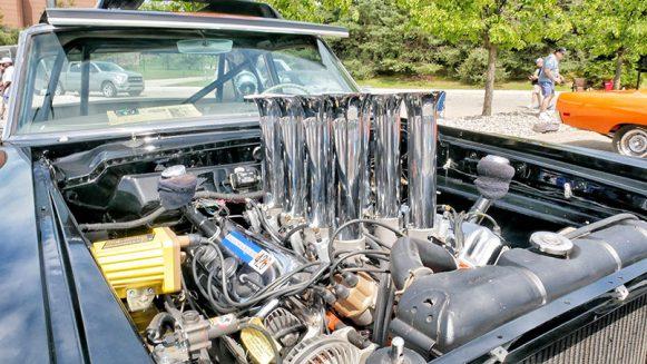 a vehicle engine