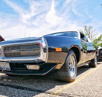 a black vehicle