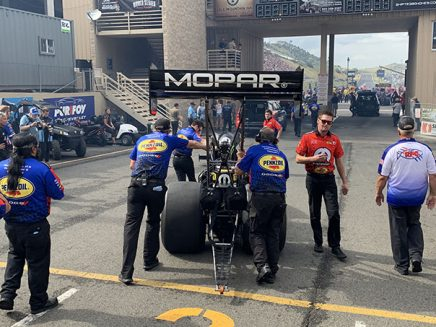 leah prichett's top fuel dragster