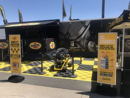 pennzoil booth
