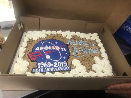 apollo 11 make a wish cake inside tommy johnson jr's trailer