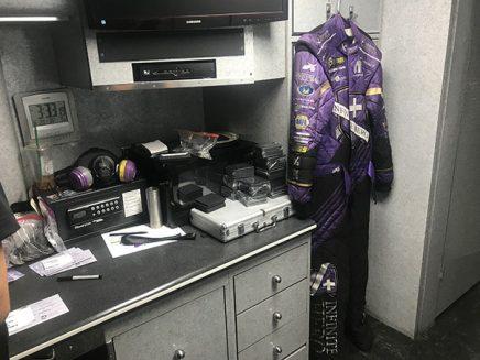 jack beckman's fire suit