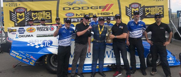 Johnson Thunders to First-ever Denver Victory at Dodge Mile-High NHRA Nationals Presented by Pennzoil
