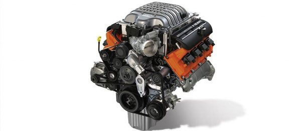 a vehicle engine