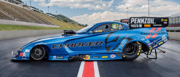 Hagan to Debut 2020 Dodge Charger SRT<sup>&reg;</sup> Hellcat Widebody Funny Car at Dodge Mile-High NHRA Nationals Presented by Pennzoil