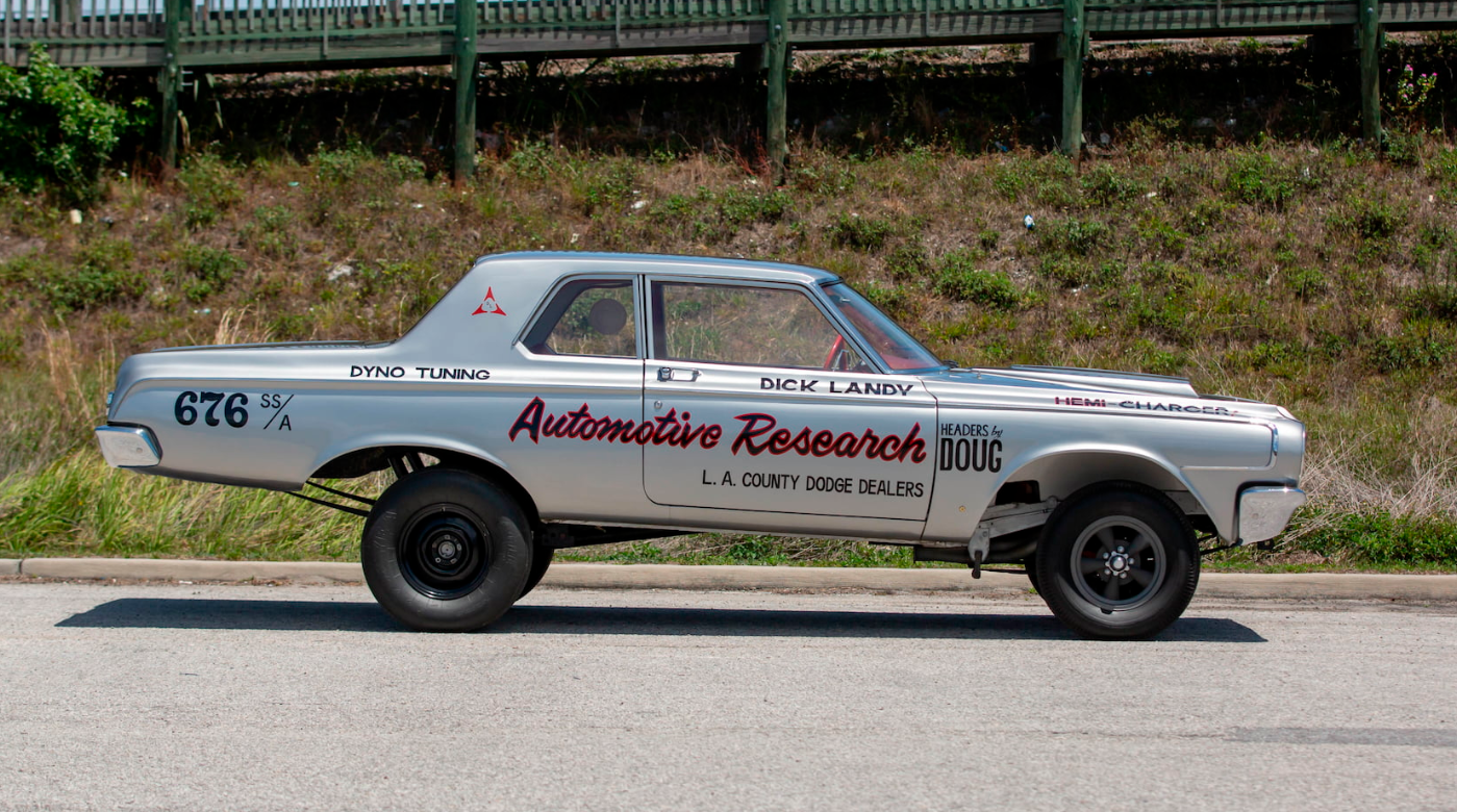 """1964 Dodge 330 Hemi Charger """"The First Funny Car"""""""