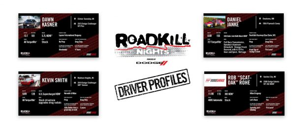 Meet Some of the Dodge Drag Racers Competing at Roadkill Nights