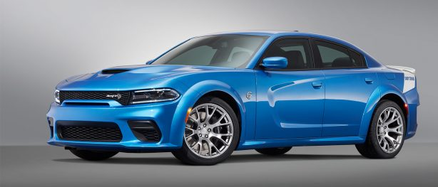 Dodge Debuts Limited-production 717-horsepower Daytona 50th Anniversary Edition on New 2020 Dodge Charger SRT<sup>&reg;</sup> Hellcat Widebody