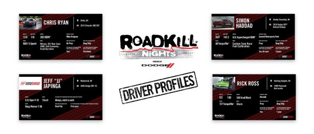 Meet More of the Dodge Racers Competing at Roadkill Nights