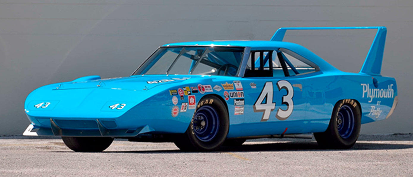 1970 Plymouth Superbird, Richard Petty NASCAR Racecar