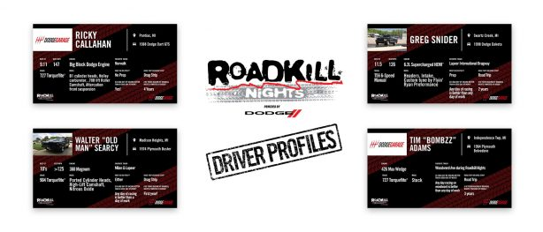 Meet the next group of Roadkill Nights drag racers!