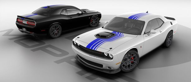 Mopar<sub>&reg;</sub> Celebrates a Decade of Customization with Limited-Edition Mopar '19 Dodge Challenger