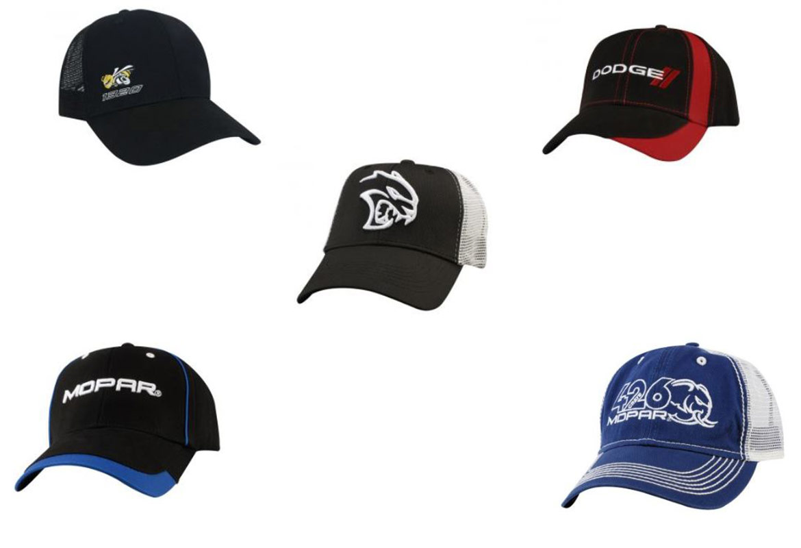 five hat options