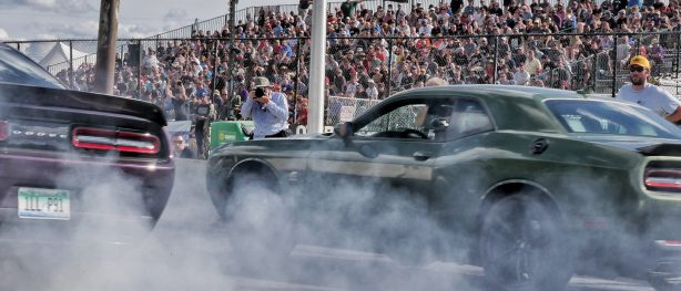 """Fifth Annual """"Roadkill Nights Powered by Dodge"""" Draws Nearly 50,000 Performance Enthusiasts to Street-legal Drag Racing on Woodward Avenue"""