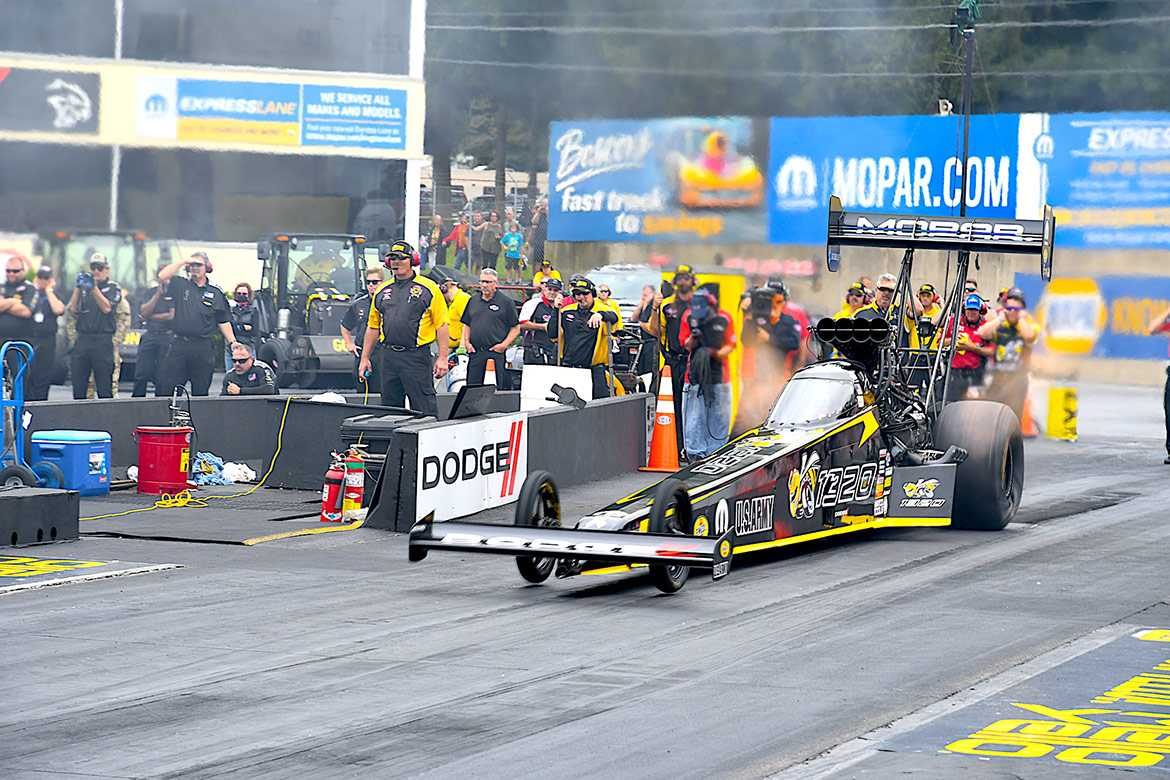 leah pritchett's top fuel dragster