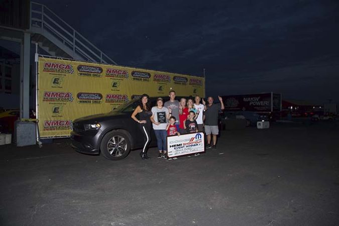 winners with their dodge vehicle