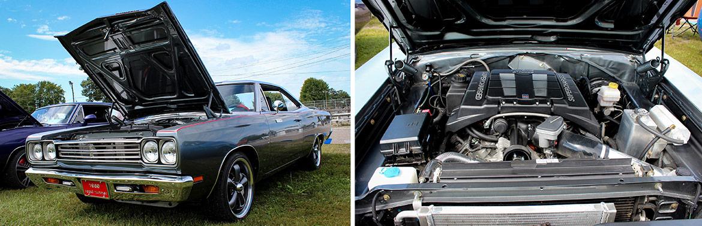 dodge vehicle and it's engine