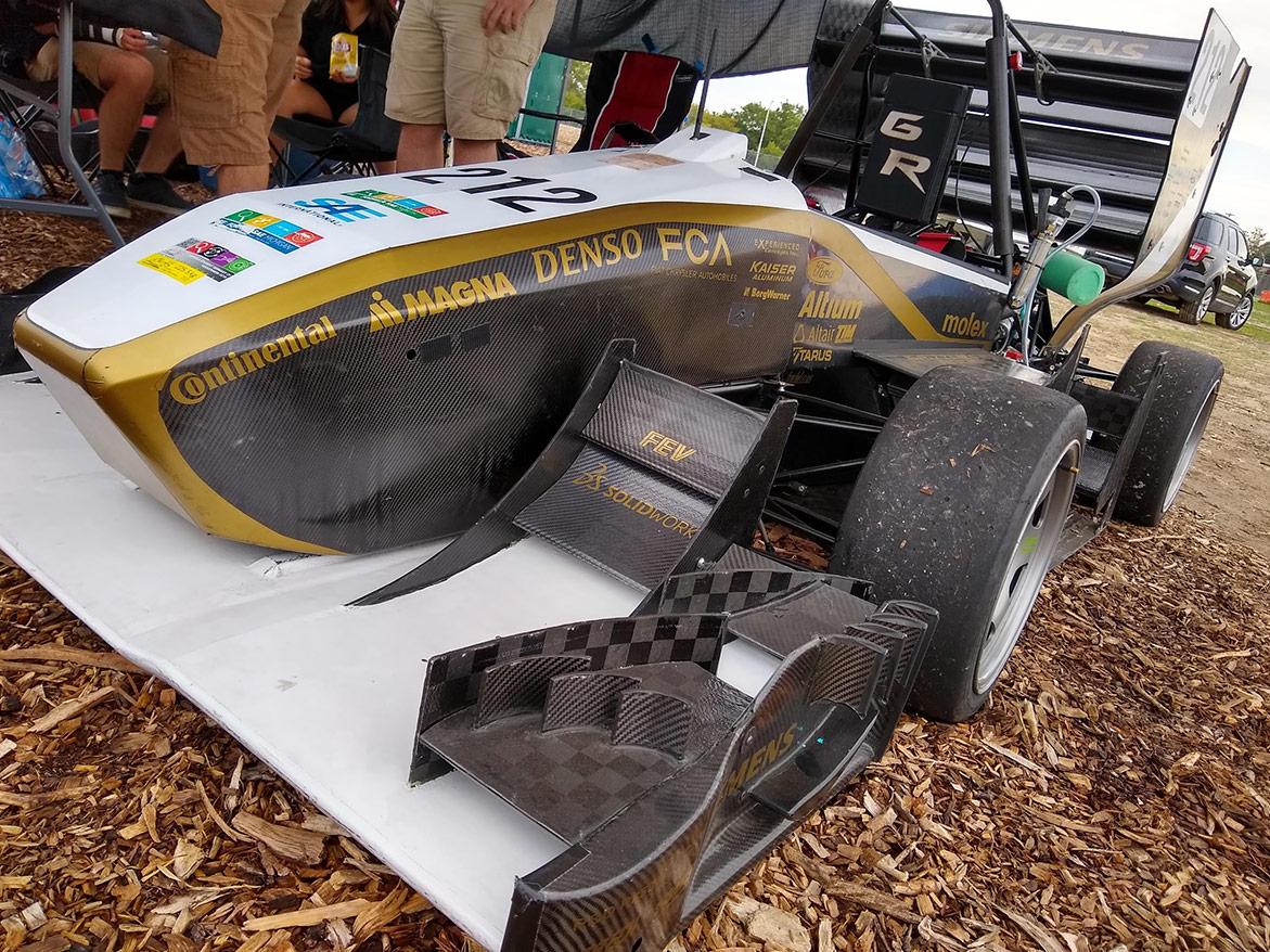 student built race car