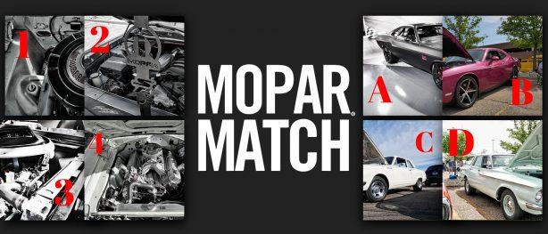 Mopar<sub>&reg;</sub> Match Round 2