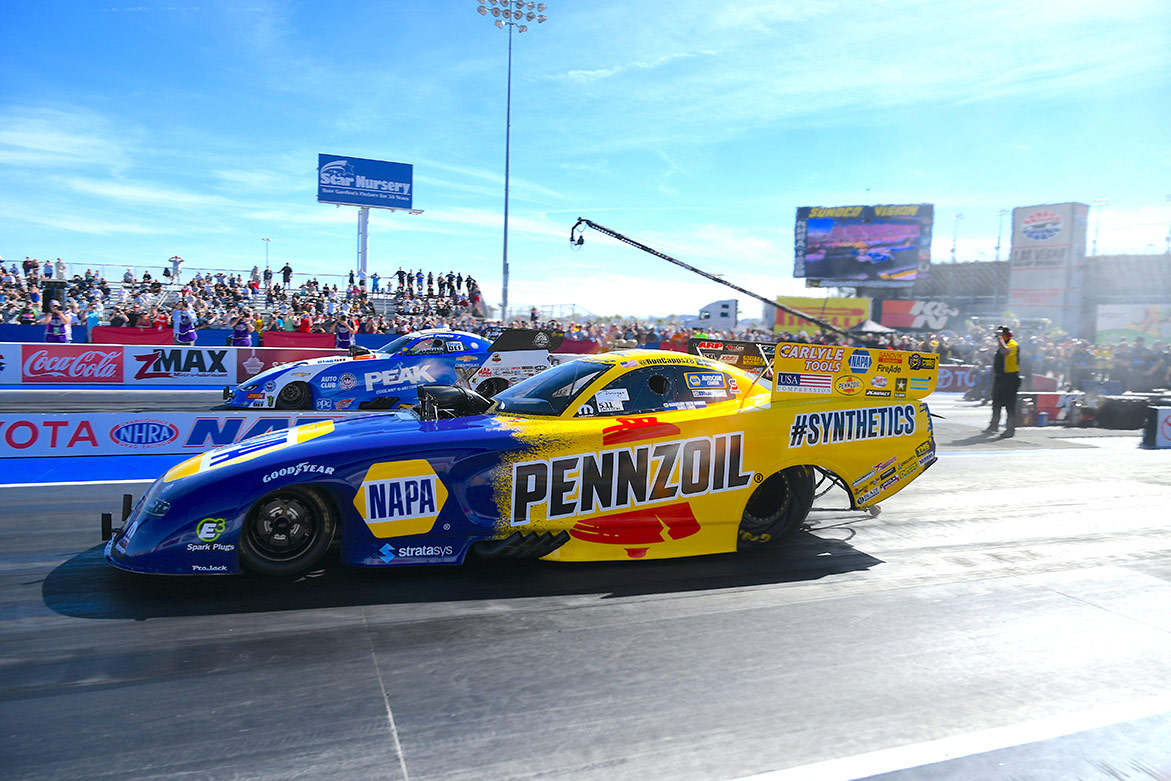 Ron Capp's Napa Auto Parts Funny Car