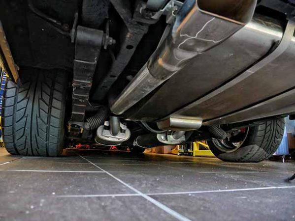 underside of dodge vehicle
