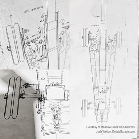 Cannon chassis, notice measurements in Metric and Standard