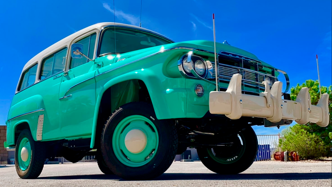 1960 Dodge Power Wagon Panel Truck