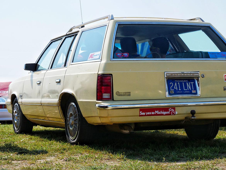 vehicle on display