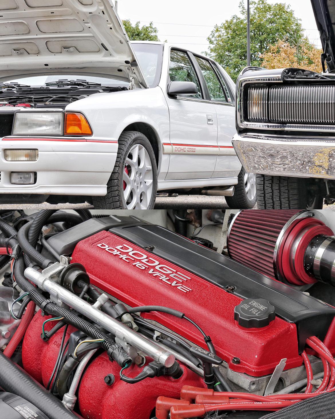 dodge vehicle and engine