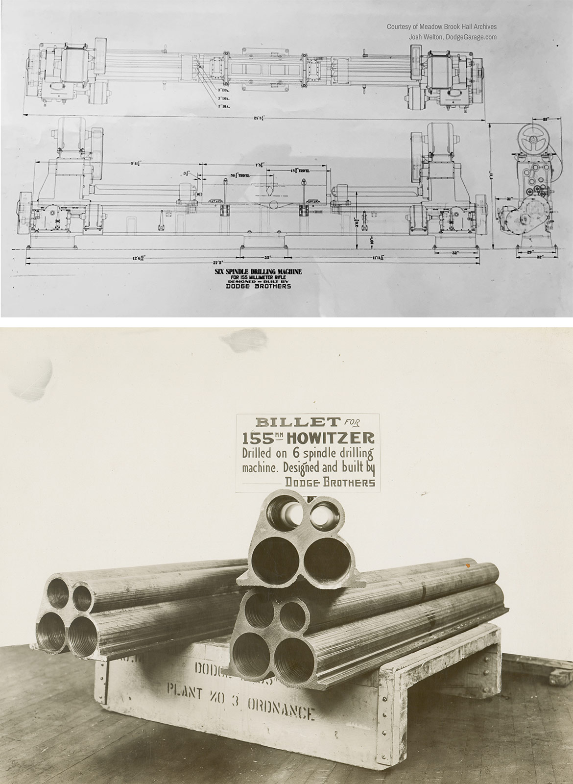 cannon parts and sketches