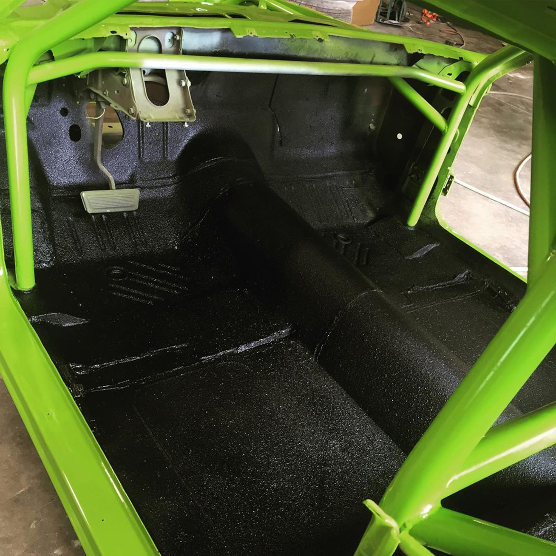 inside of vehicle
