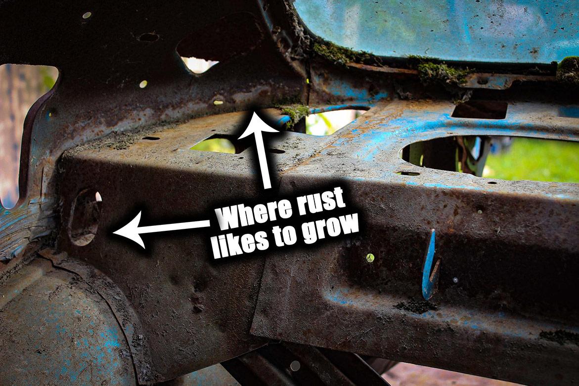 decrepit plymouth vehicle parts