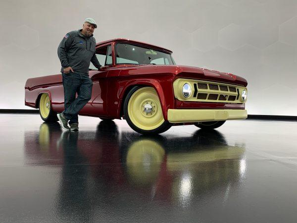 man with the Mopar® Dodge Lowliner Concept