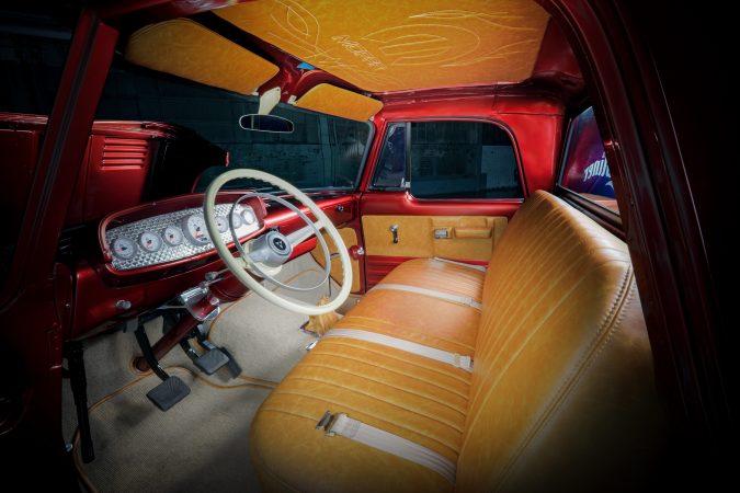 interior of the Mopar® Dodge Lowliner Concept