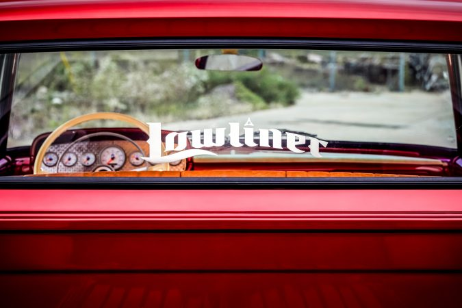 lowliner decal of the Mopar® Dodge Lowliner Concept